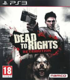 Dead to rights retribution front cover jaquette