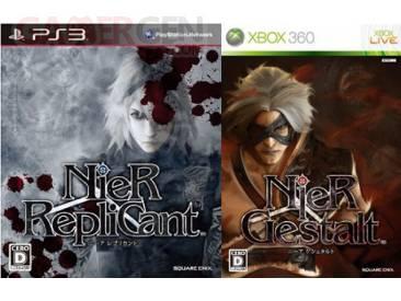 Nier couverture Xbox PS3