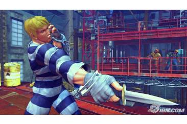 Super Street Fighter IV Screenshot Capcom Cody Adon guy (9)