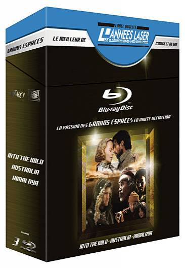 bluray_Into the Wild - Australia - Himalaya -