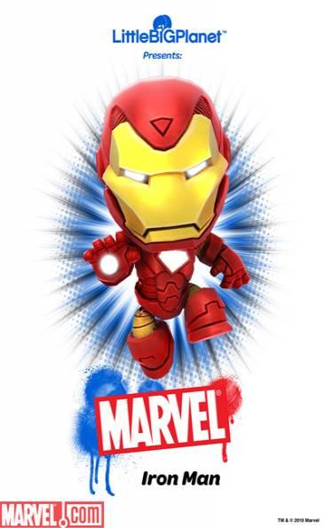 Iron Man Sackboy