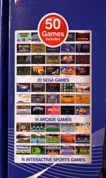Sega Zone nouvelle console