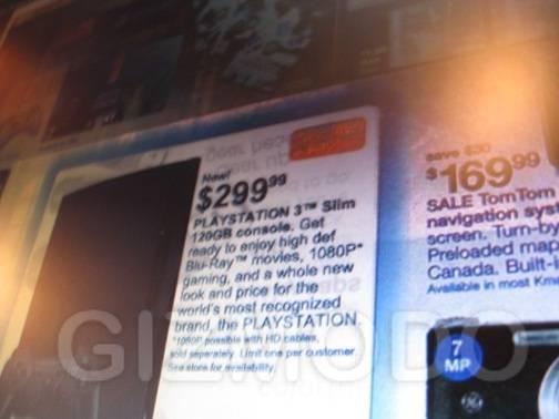 PS3 Slim k mart