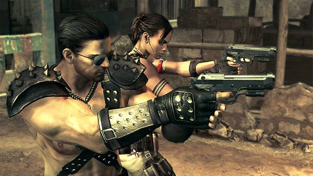 Resident Evil 5 Alternative Edition Costume DLC Capcom