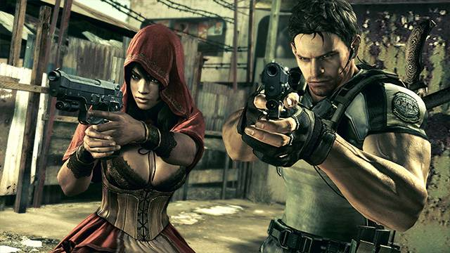 Resident Evil 5 Alternative Edition Costume DLC Capcom 3