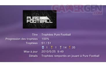 Pure Football Trophees liste   1