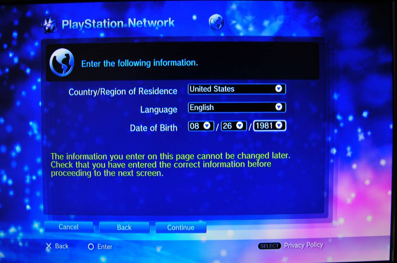 Creer Compte Playstatio Network Americain 150809_006