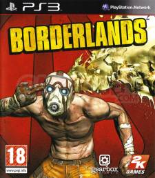 Borderlands cover jaquette