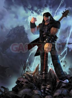 Brutal Legend COVER ART IMAGE - FIST OF ROCK