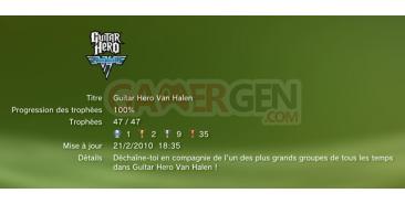Guitar Hero Van Halen Trophees  2