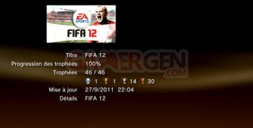 FIFA 12 - Trophées - LISTE    1