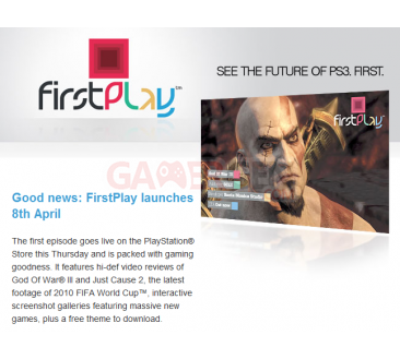 FirstPlay Episode 1