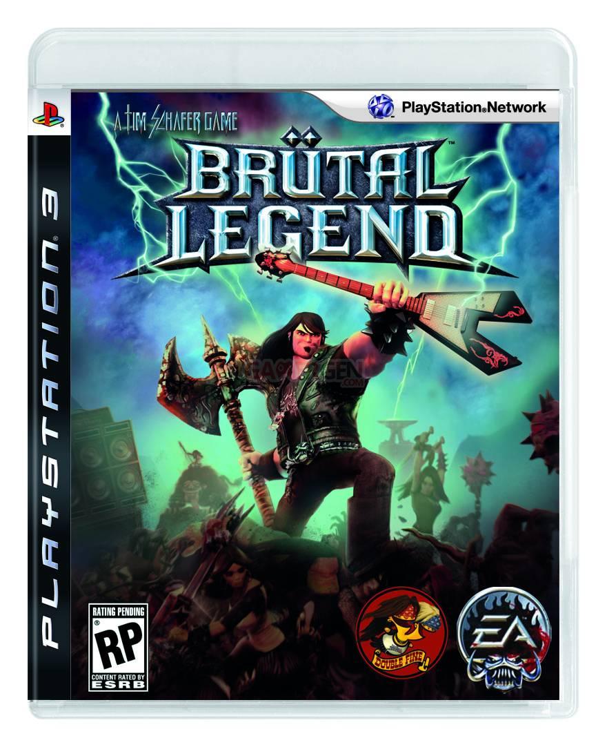 Brutal Legend PS3 Brutal Legend Box Art