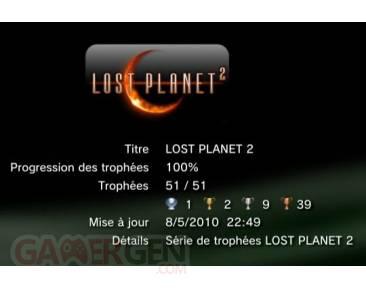 Lost Planet 2 trophee liste  1