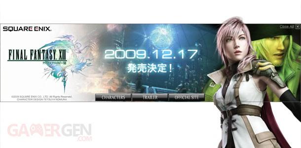 Final Fantasy XIII Sortie