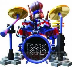 lego rock band Batteur