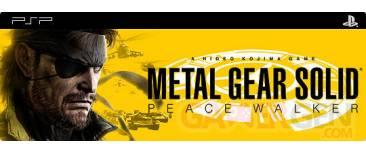 Metal gear PEace Walker PSP