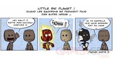 18-07-2010 Actu en dessin Phenixwhite LittlebigPlanet Ghost Rider