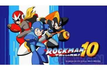 Megaman Rockman 10 Forte Gameplay DLC Capcom