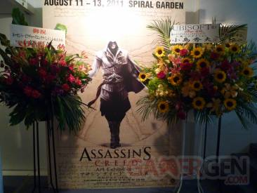 Assassin's Creed Art Exhibit tokyo reportage mediagen photos (53)