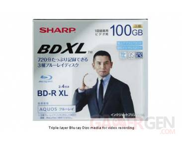 Blu-Ray-Disc-Sharp-100-GB