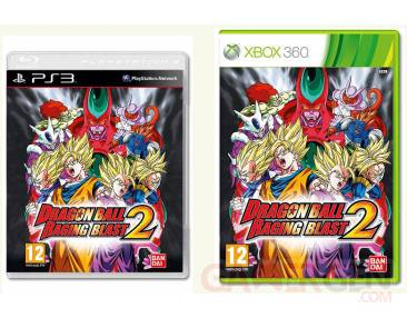 Dragon Ball Raging Blast couverture info PS3 Xbox 360