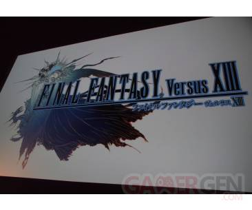 Final fantasy XIII Versus Conference square enix ps3