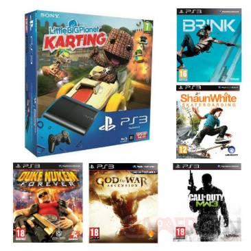 Bundle PS3 ULtra Slim 12 Go avec 5 jeux auchan 11.07.2013 (2)