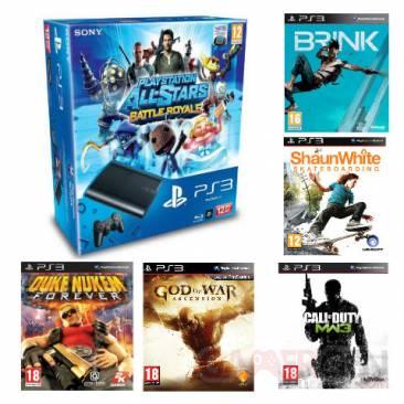 Bundle PS3 ULtra Slim 12 Go avec 5 jeux auchan 11.07.2013 (3)