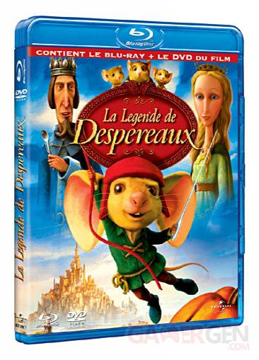 jaquette blu-ray legende desperaux