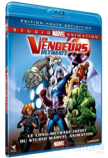 jaquette blu-ray the avengers