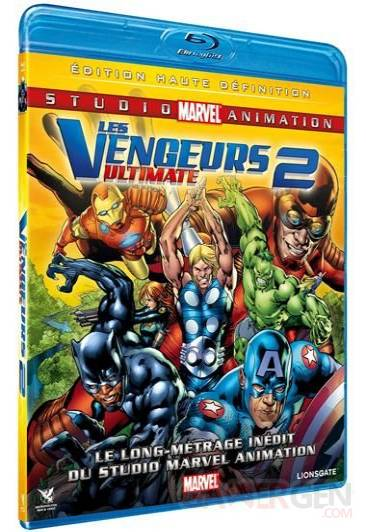 jaquette blu-ray vengeurs ultimate 2
