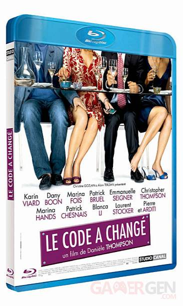 jaquette blu-ray code change