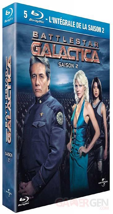 blu-ray battlestar galactica saison 4