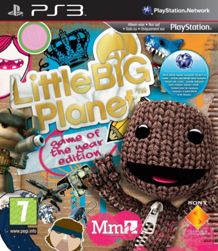 LittleBigPlanet Game of The Year