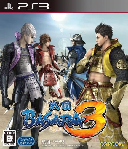Sengoku Basara 3 cover