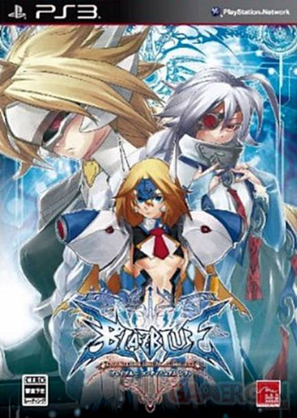Blazblue Continuum Shift europe jaquette nippone (2)