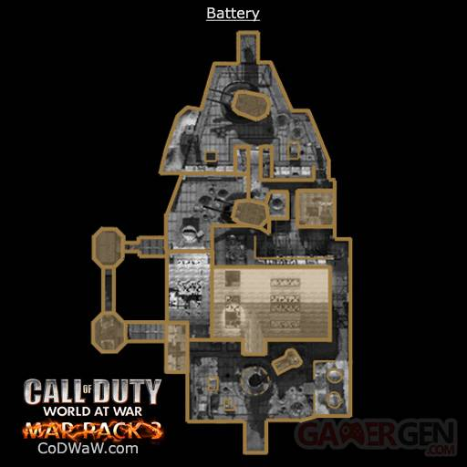 battery call of duty world at war
