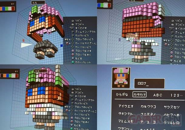 3D Dot Game Heroes Atelier rorona