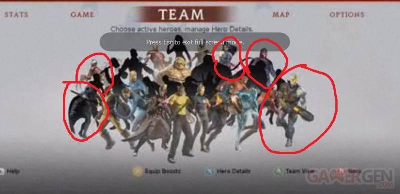 DLC Marvel Ultimate Alliance