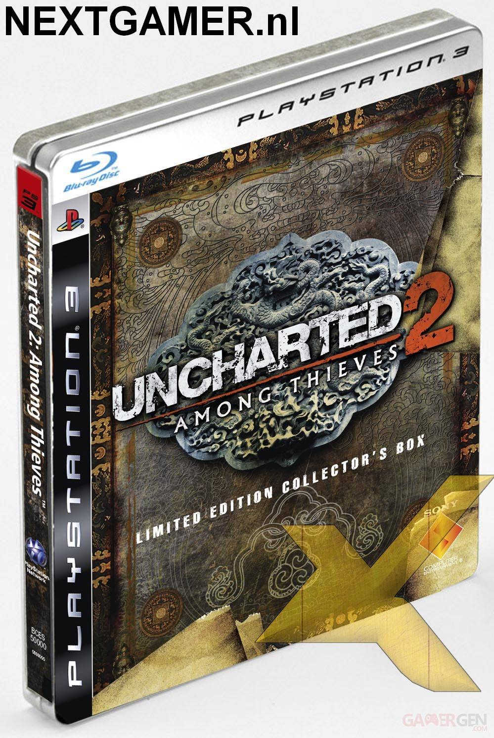 edition collector uncharted 2 among thieves