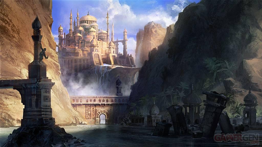 Prince of Persia Les sables oubliés Artwork 1