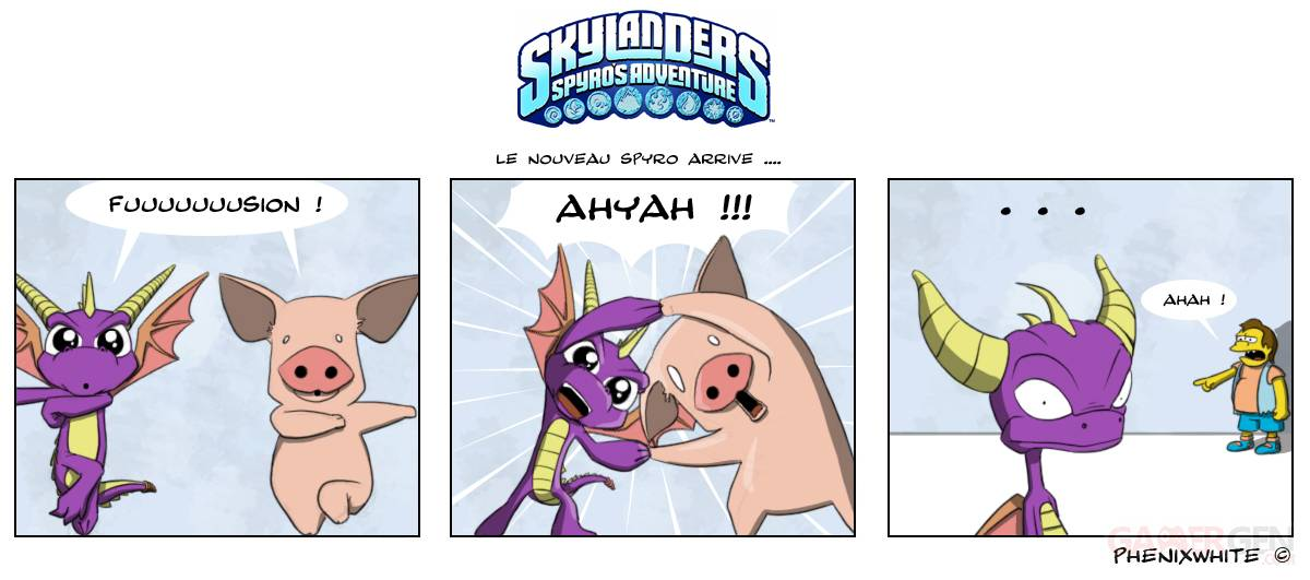 Actu-en-dessin-PS3-Phenixwhite-Skylanders-Spyro-s-Adventure-16102011