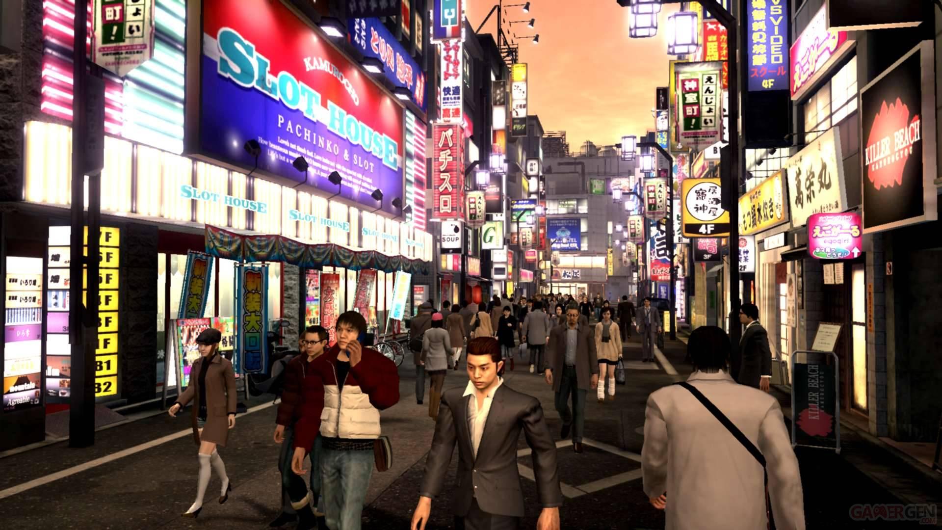Yakuza 4 Ryu Ga Gotoku Sega Kazuma Kiryu 4