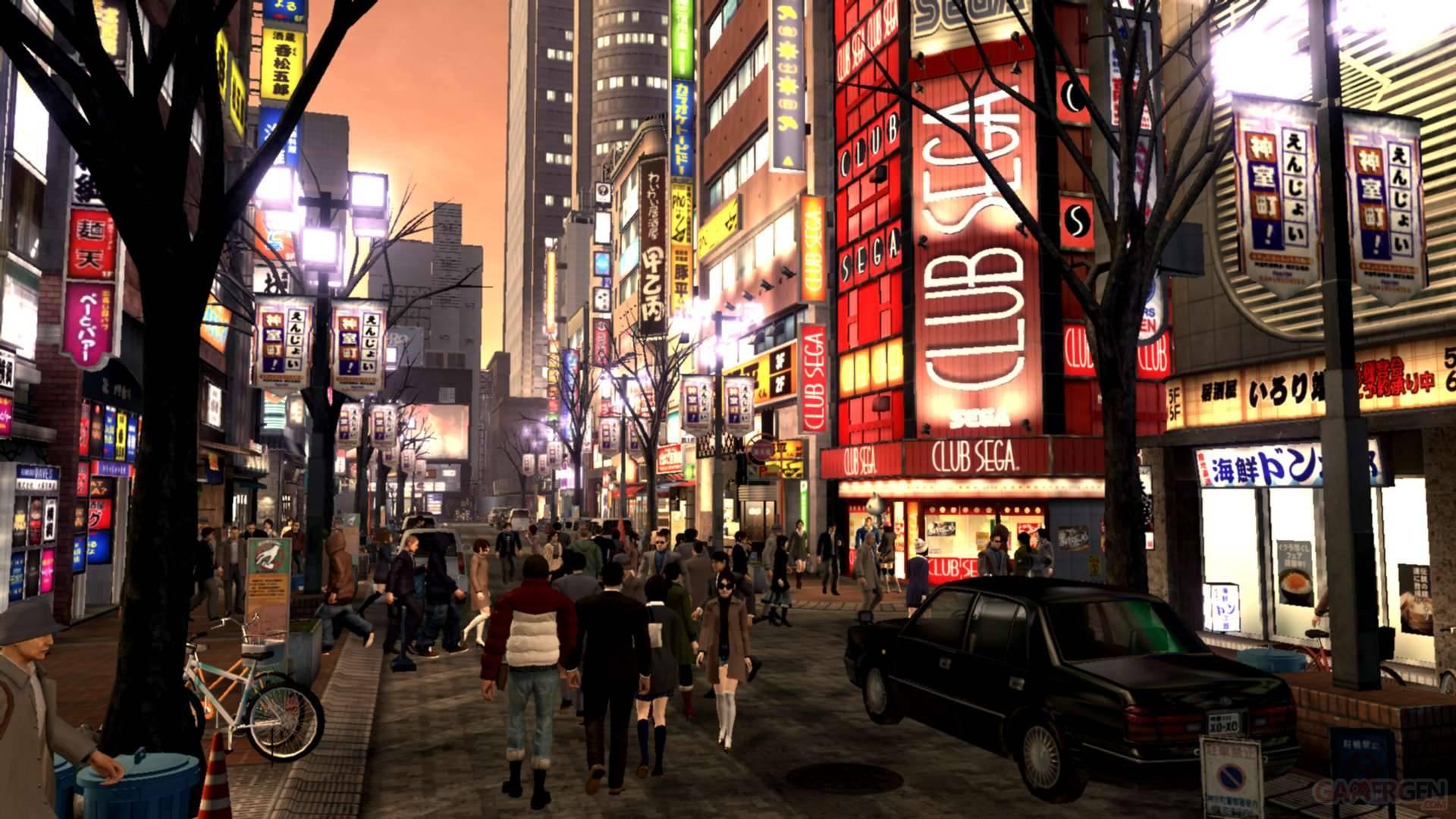Yakuza 4 Ryu Ga Gotoku Sega Kazuma Kiryu 6