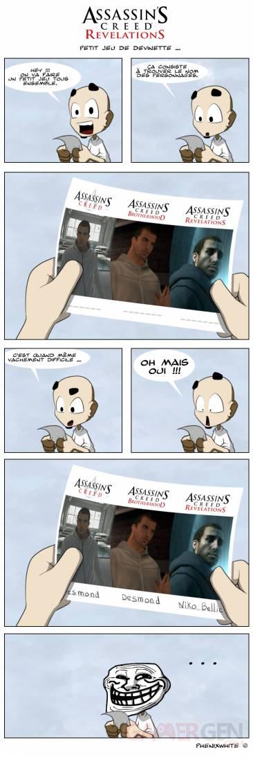 Actu-en-dessin-PS3-Phenixwhite-Assassin-Creed-Revelations-Desmond-Miles-Troll-13112011