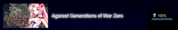 Agarest Generation of War Zero Trophées FULL 1