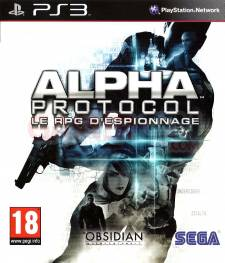 alpha protocol jaquette front cover