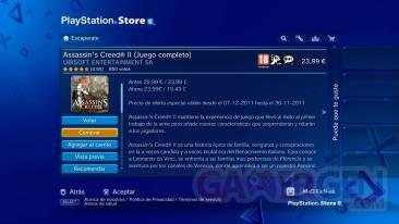 Assassin's creed le bug gratuit PSN espagnol 01
