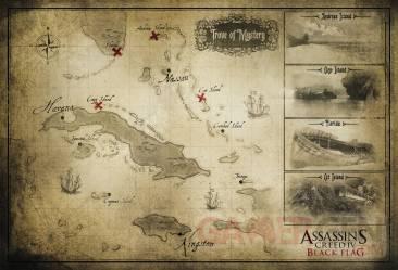 Assassin s creed IV black flag carte